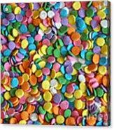 Sugar Confetti Acrylic Print