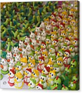 Sugar Figurines For Sale At The Day Acrylic Print