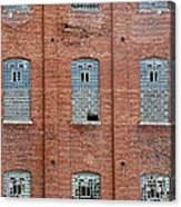 Sugar Mill Broken Windows Acrylic Print