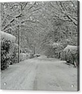 Sugar Road Acrylic Print