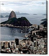 Sugarloaf Mountain Brasil Acrylic Print