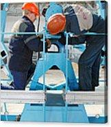 Sukhoi Superjet 100 Assembly Acrylic Print