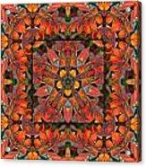 Sumac Autumn Kaleidoscope Acrylic Print