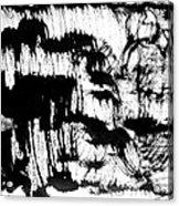 Sumi-e 120726-3 Acrylic Print
