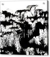 Sumi-e 120726-4 Acrylic Print