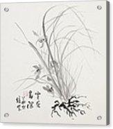 Sumi-e Four Acrylic Print