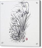 Sumi-e Two Acrylic Print