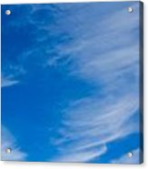 Summer Cloud Images Acrylic Print
