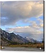 Summer Clouds Over Colin Mountain Acrylic Print