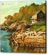 Summer Cottage Acrylic Print