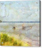 Summer Days At The Lake Acrylic Print