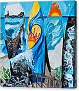 Summer Dayz Acrylic Print by Michael Henzel