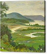 Summer Morning Hudson Highlands Acrylic Print