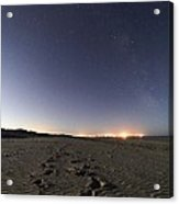 Summer Night Sky Acrylic Print by Laurent Laveder