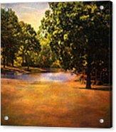 Summer Pond Acrylic Print