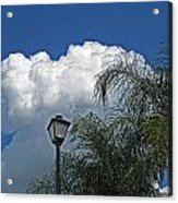 Summer Sky Horizontal Acrylic Print