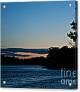 Summer Sundown Acrylic Print