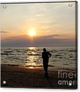 Summer Sunset Solitude Acrylic Print