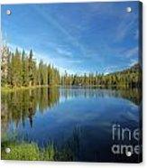 Summit Lake Blues Acrylic Print