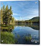 Summit Lake Shores Acrylic Print