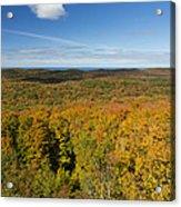 Summit Peak Autumn 11 Acrylic Print