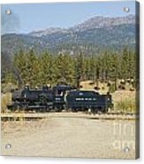 Sumpter Valley Railroad Acrylic Print