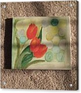 Sun And Tulips Acrylic Print