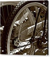 Sun Cruiser Wheels Acrylic Print