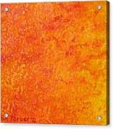 Sun Energy Acrylic Print