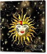 Sun Face  Acrylic Print