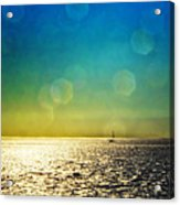Sun Flare Sail Acrylic Print