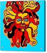 Sun God II Acrylic Print