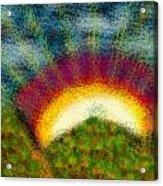 Sun Acrylic Print