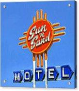 Sun 'n Sand Acrylic Print