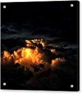 Sun On Clouds Acrylic Print