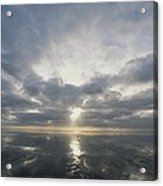 Sun Reflection Over Water, Wattenmeer Acrylic Print