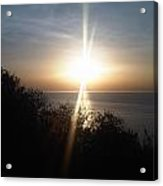 Sun Rising Over Alameda Beach Acrylic Print