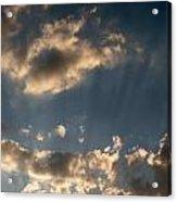 Sunbeams From Heaven Acrylic Print