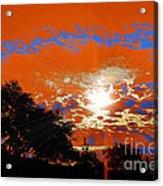 Sunburst Acrylic Print by RJ Aguilar
