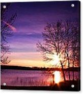 Sunday Lake Acrylic Print