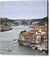 Sunday Morning In Porto | Portugal Acrylic Print