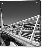 Sundial Bridge One Acrylic Print