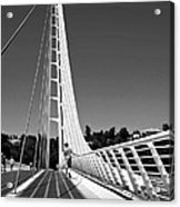 Sundial Bridge Two Acrylic Print
