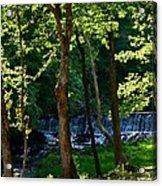 Sundown At The Falls Acrylic Print