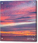 Sundown In Dunedin Acrylic Print