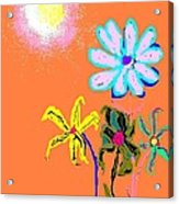 Sunflowered 3 Acrylic Print