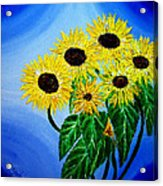Sunflowers 1 Acrylic Print