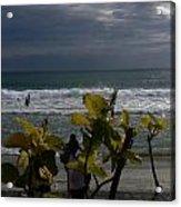 Sunlight On Kovalam Beach Acrylic Print