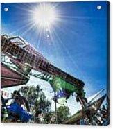 Sunny At The Fair Acrylic Print by Dan Crosby