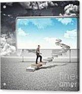 Sunny Future Acrylic Print